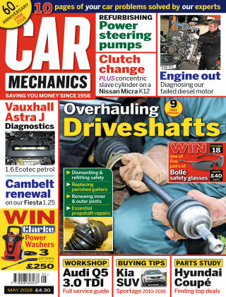 Car Mechanics May 2018