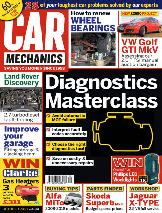 Car Mechanics Oct 2018