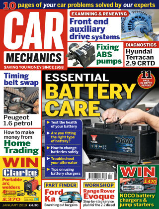 Car Mechanics Jan 2019