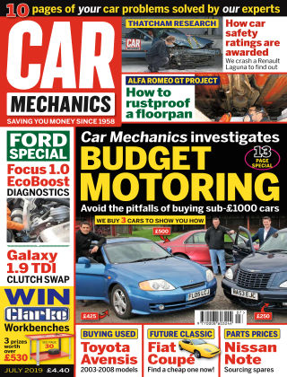 Car Mechanics Jul 2019