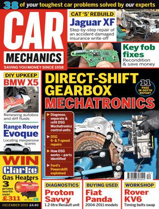 Car Mechanics November 2019