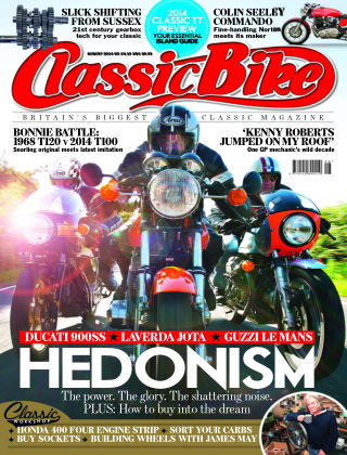 Classic Bike August 2014