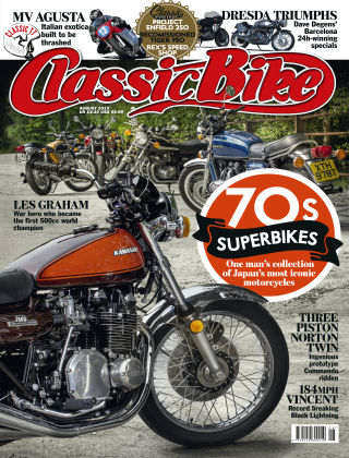 Classic Bike August 2015