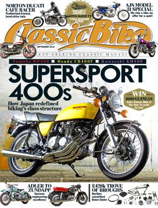 Classic Bike September 2015