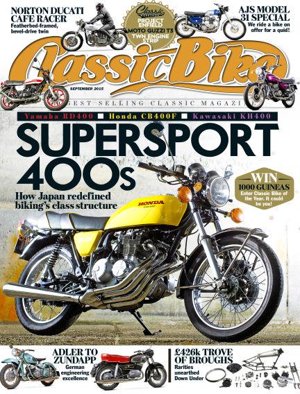 Classic Bike August 25, 2015 00:00