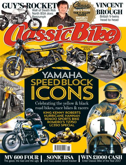 Classic Bike October 26, 2016 00:00