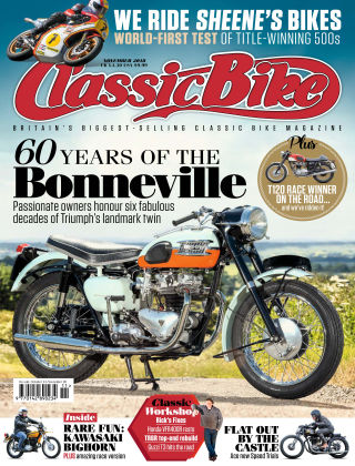 Classic Bike Nov 2018