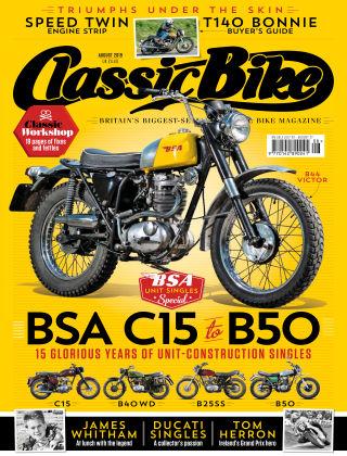 Classic Bike Aug 2019