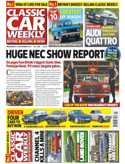 Classic Car Weekly November 19, 2014 00:00