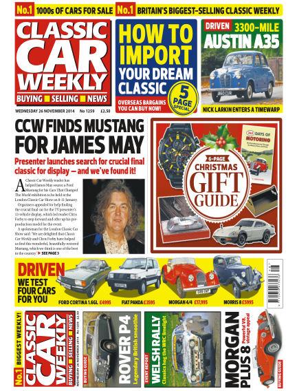 Classic Car Weekly November 26, 2014 00:00