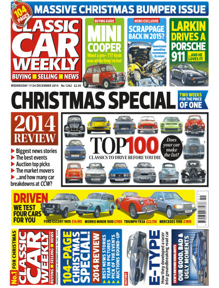 Classic Car Weekly December 17, 2014 00:00