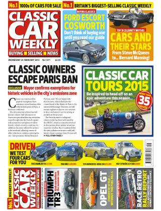 Classic Car Weekly NR.08 2015