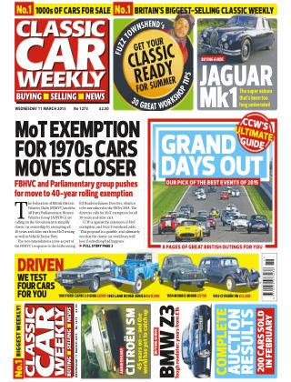 Classic Car Weekly NR.10 2015
