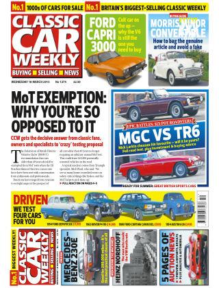 Classic Car Weekly NR.11 2015