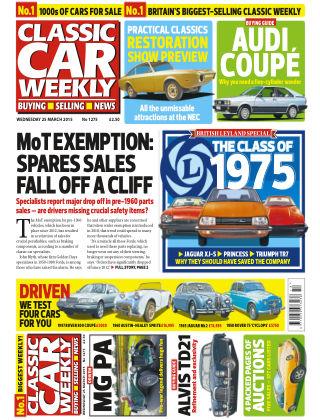 Classic Car Weekly NR.12 2015