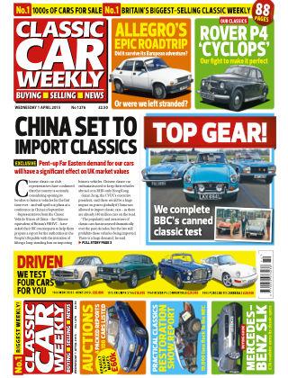 Classic Car Weekly NR.13 2015