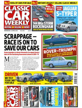 Classic Car Weekly NR.15 2015