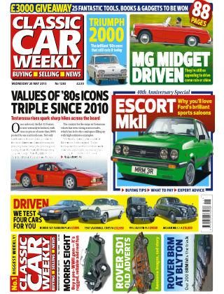 Classic Car Weekly NR.20 2015