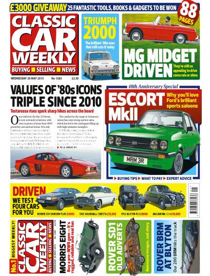 Classic Car Weekly May 20, 2015 00:00