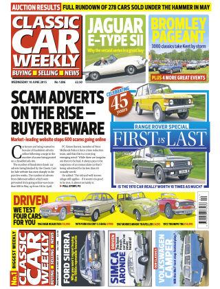 Classic Car Weekly NR.22 2015