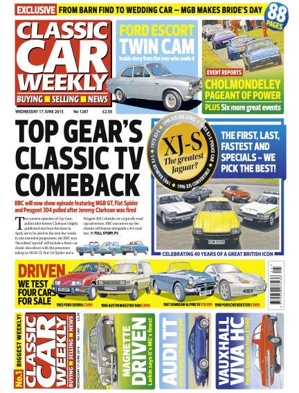 Classic Car Weekly June 17, 2015 00:00