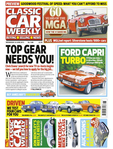 Classic Car Weekly June 24, 2015 00:00