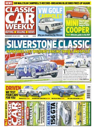 Classic Car Weekly NR.29 2015