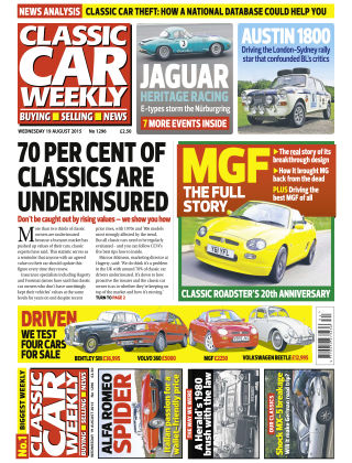 Classic Car Weekly NR.32 2015