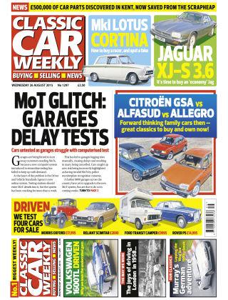 Classic Car Weekly NR.33 2015