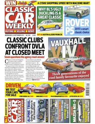 Classic Car Weekly NR.37 2015