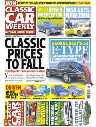 Classic Car Weekly NR.38 2015