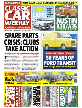 Classic Car Weekly NR.40 2015