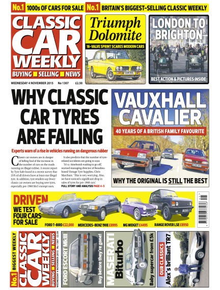 Classic Car Weekly November 04, 2015 00:00