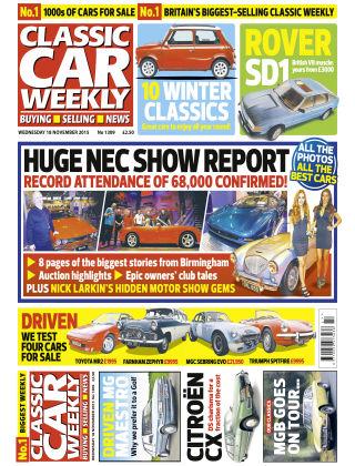 Classic Car Weekly NR.45 2015