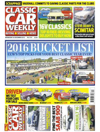 Classic Car Weekly NR.50 2015