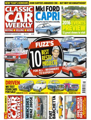Classic Car Weekly NR.01 2016