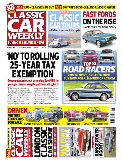 Classic Car Weekly February 24, 2016 00:00