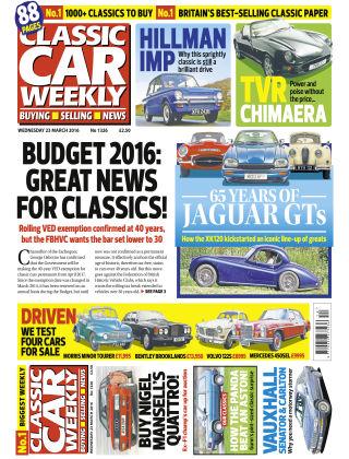 Classic Car Weekly NR.12 2016
