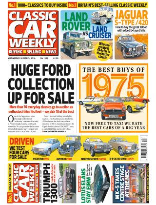 Classic Car Weekly NR.13 2016