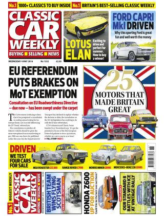 Classic Car Weekly NR.18 2016
