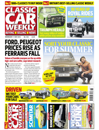 Classic Car Weekly NR.19 2016