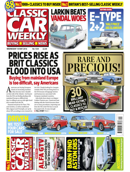 Classic Car Weekly May 18, 2016 00:00
