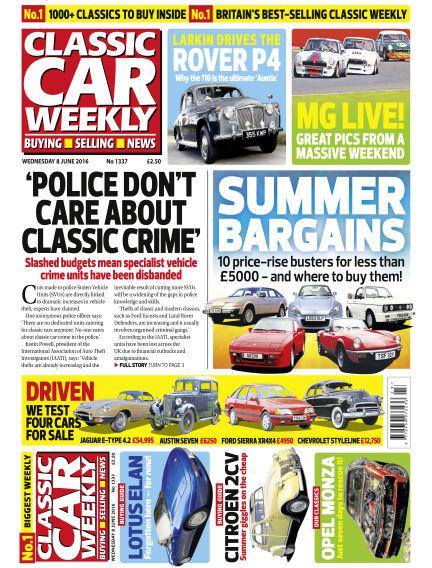 Classic Car Weekly June 08, 2016 00:00