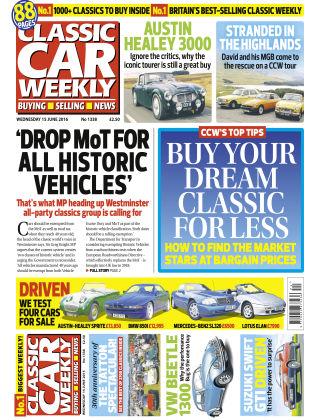 Classic Car Weekly NR.24 2016