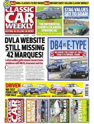 Classic Car Weekly NR.25 2016