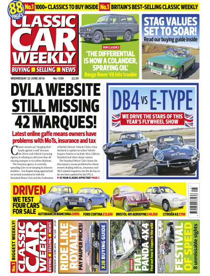 Classic Car Weekly June 22, 2016 00:00