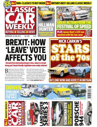 Classic Car Weekly NR.26 2016