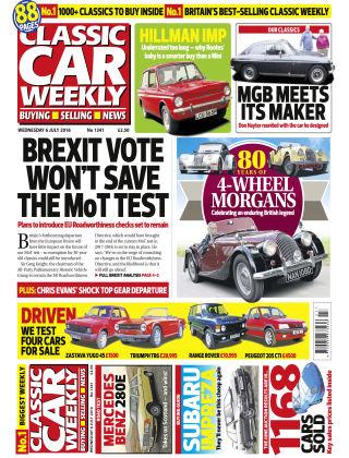 Classic Car Weekly NR.27 2016