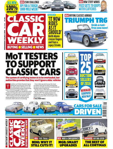 Classic Car Weekly July 20, 2016 00:00