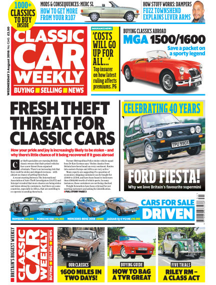 Classic Car Weekly August 03, 2016 00:00